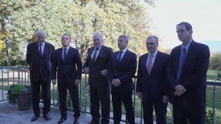 Հայաստանի և Ադրբեջանի ԱԳ նախարարների հանդիպումը Ժնևում