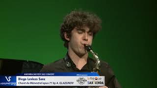 Diego Levices Sanz plays Chant du Ménestrel opus 71 by Alexander GLAZUNOV