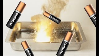 How To Make Thermite Out Of Batteries
