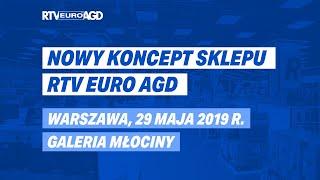 Otwarcie sklepu RTV EURO AGD w Galerii Młociny w Warszawie