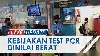 LIVE UPDATE: Pemberlakuan Tes Covid-19 Diterapkan di Bandara Husein Sastranegara
