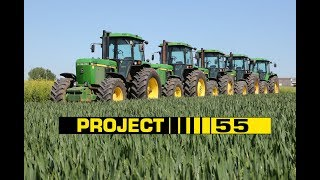 Project 55 DVD introduction with John Deere 4055, 4255, 4455, 4755 & 4955 tractors