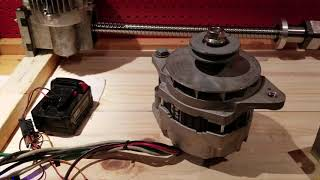 2.4kW Alternator To Motor Conversion.