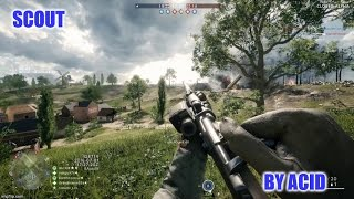 Battlefield 1 Closed Alpha - Scout Gameplay