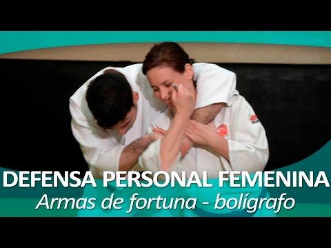 DEFENSA PERSONAL FEMENINA 16 (Joshi goshin jutsu) | Armas de fortuna - bolígrafo