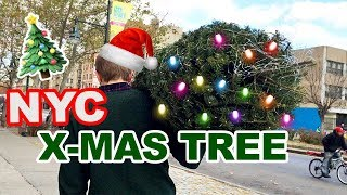 CHRISTMAS TREE IN NEW YORK CITY // Christmas Shopping in NYC