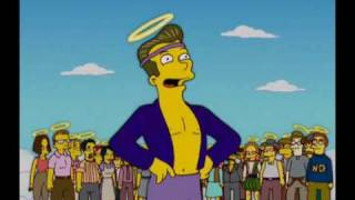 The Simpsons – Protestant Heaven vs. Catholic Heaven