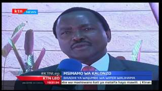 KTN Leo Septemba 19 2016: Kalonzo awataka waliohama Wiper wang'atuke kwenye vyeo vyao