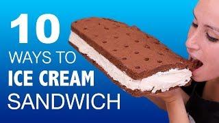 ICE CREAM SANDWICH VS ICE CREAM SANDWICH 🍦🥪