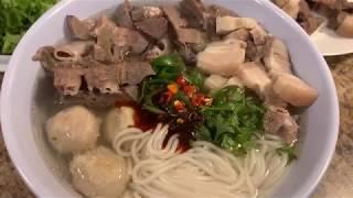 How To Make Healthy Noodle Soup No Coconut 👩🍳Qhia Ua Qhaub Poob Kua Ntshiab Qhaub Poob Npaj Nauj