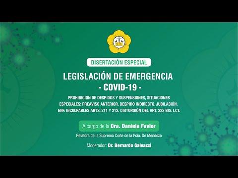 Legislación de emergencia COVID-19