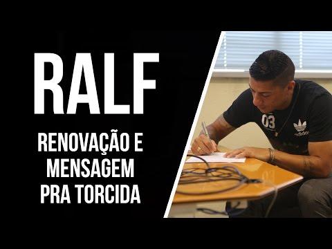 Ralf renova contrato e manda mensagem para a torcida!