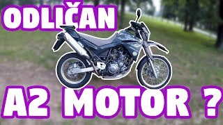 Yamaha XT660R (2005) - First Ride - Test Ride - Review