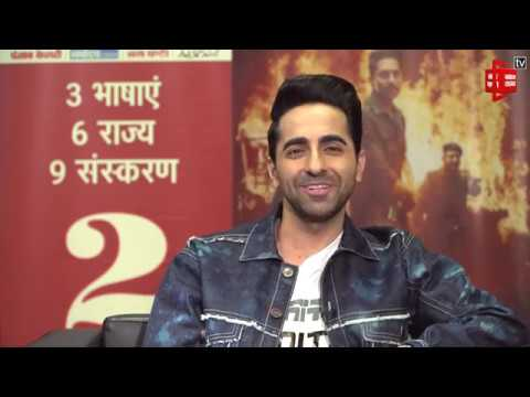 Exclusive interview with Ayushmann Khurrana