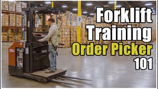 How to Operate a Forklift | Order Picker | Cherry Picker Training