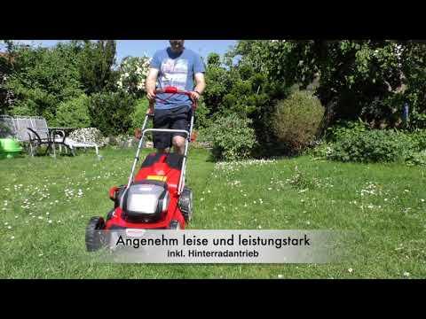 Akkupower für den Garten |Der Hecht 5051 Akku-Rasenmäher im Test