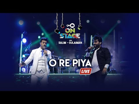 O Re Piya | Salim Sulaiman Live Ft Vipul Mehta | 9XM On Stage