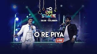 O Re Piya   Salim Sulaiman Live Ft Vipul Mehta   9XM On Stage