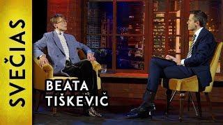 """""""Kiaušai, jie gi labai silpni yra"""" - Beata Tiškevič    Laikykitės ten pokalbiai"""