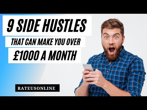 9 Side Hustles That Can Make You Over £1000 A Month In The UK
