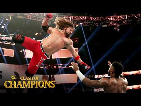 AJ Styles sends a message in showdown with Cedric Alexander: Clash of Champions 2019 (WWE Network)