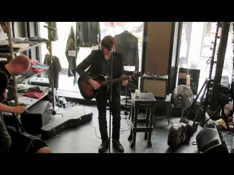 Dylan LeBlanc – live at CCTV Session by Nudie Jeans in Göteborg