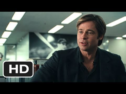 Moneyball (2011) Movie Trailer - HD - Brad Pitt
