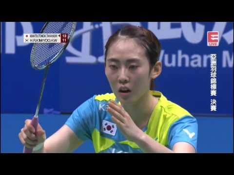 Download M. Matsutomo/A. Takahashi Vs Yoo Hae Won/Kim Hye Rin - 2017 Badminton Asia Championships WD F [HD] HD Mp4 3GP Video and MP3
