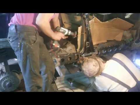ваз 2115  замена порогов и ремонт днища