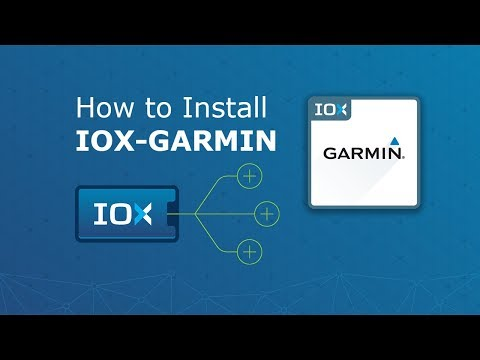 A video showing how IOX-GARMIN works.