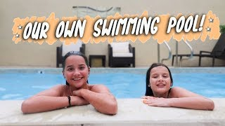 Our Own Swimming Pool! (WK 400.7) | Bratayley