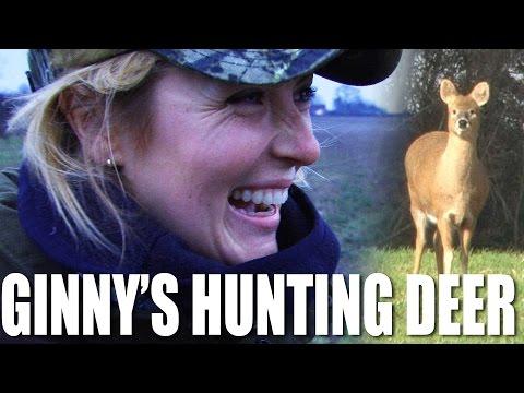 Ginny's hunting deer
