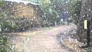 שלג בשכונת החרמון