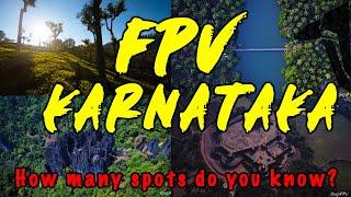 Karnataka and Coonoor - memories from an FPV road trip