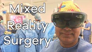 Технология Microsoft Hololens, теперь используется в хирургии для лечения рака кишечника