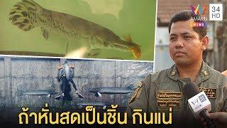 """กู้ภัยคาดปลาจระเข้ในบ่อ""""ไอซ์""""ไว้กินศพ-คนเลี้ยงยันไม่จริงเว้นแต่หั่นเป็นชิ้น ทุบโต๊ะข่าว 18/01/63"""