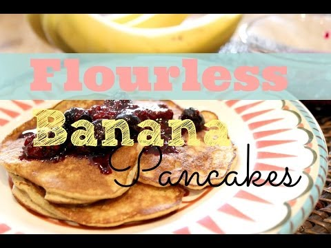 Video Healthy Breakfast Recipe: How To Make Banana Pancakes | Flourless, Gluten-Free, Low-Fat