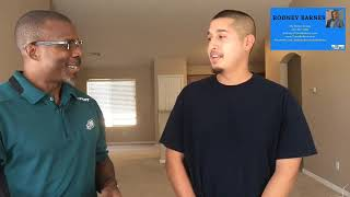 Helping a first time home buyer. Home buyer testimonial.