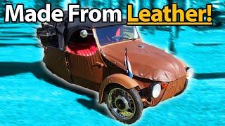 6 Cars Made From Weird Materials!! 🧻