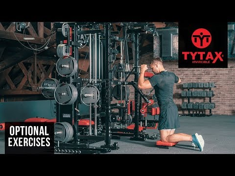 TYTAX® T1-X (Opt. PR) | Kneeling Cable Lever One Arm Lateral Raise
