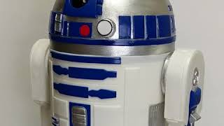 Making of the R2D2 Cake