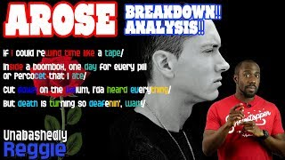 Eminem - Arose | Lyrics and Rhymes BREAKDOWN! ANALYSIS!