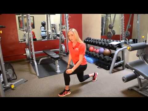 Step Back Lunge Into High Knee