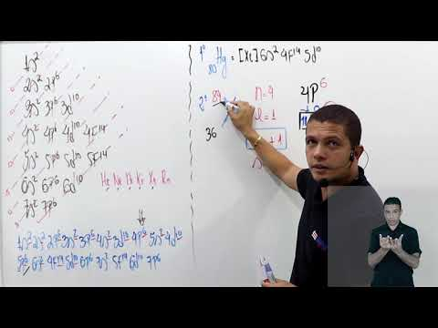 Aula 05 | Eletrosfera - Parte 03 de 03 - Exercícios Resolvidos - Química