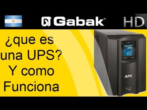 ¿Qué es una UPS? ¿Cómo funciona?