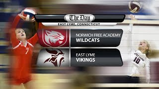 Full replay: NFA at East Lyme volleyball