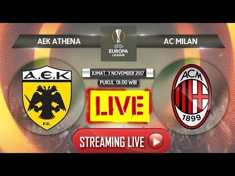 LIVE [STREAMING] Prediksi AEK Athens Vs AC Milan WAJIB TONTON