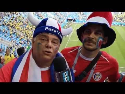 Así se vivió el encuentro Brasil frente a Costa Rica