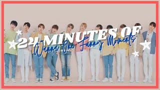24 minutes of wanna one funny moments