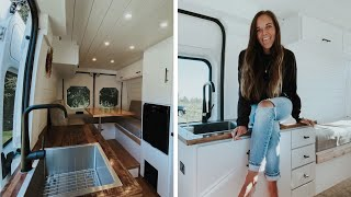 MODERN SELF-BUILD CAMPERVAN // How A Honeymoon On The Road Turned Into FULL-TIME VANLIFE 🚐⛰️ by Nate Murphy